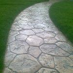 Декоративно печатный бетон